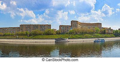 파노라마, 모스크바, -, 러시아