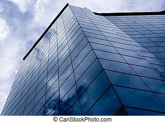 파랑, 건물, 2