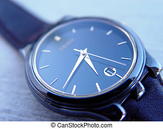 파랑, 시계
