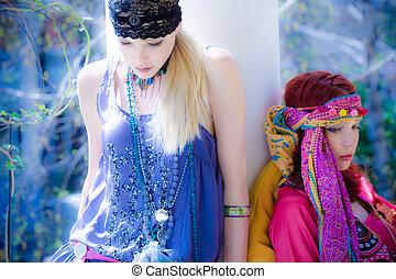 파랑, 여름, 꿈