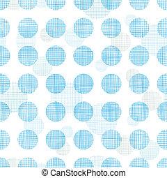 파랑, 점, 패턴, 떼어내다, 폴카, 스트라이프, seamless, 직물, 배경