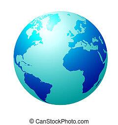 파랑 지구