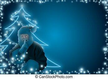 파랑, 크리스마스