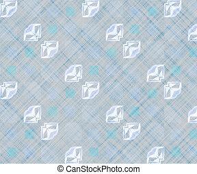 파랑, 패턴