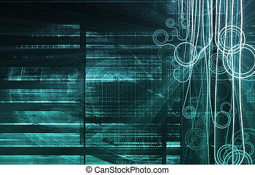 파랑, nanotechnology