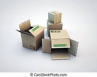 판지 박스
