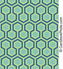 패턴, 육각형, seamless, 물오리