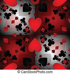 패턴, 카드, 배경