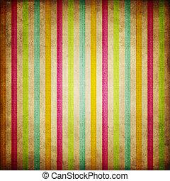 패턴, retro, 줄무늬