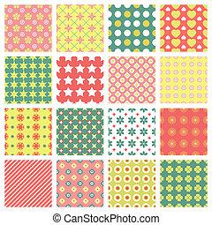 패턴, seamless, 최신 유행의