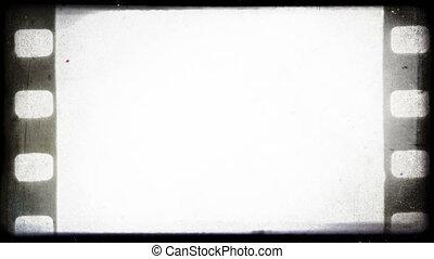 포도 수확, 늙은, 35 mm, 필름, 배경.