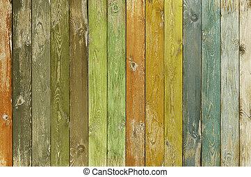 포도 수확, 색, 늙은, 나무, 두꺼운 널판지, 배경
