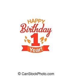포도 수확, 생일, 행복하다, 카드, 처음