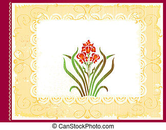 포도 수확, 앨범 표지, 디자인