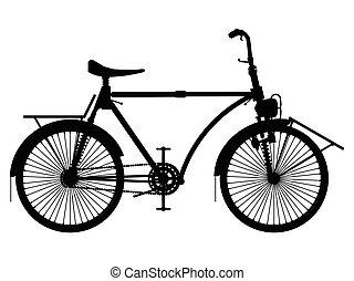 포도 수확, 자전거