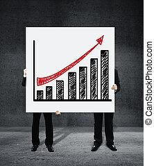 포스터, 와, 성장 도표