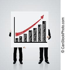 포스터, 와, 성장, 의, 도표