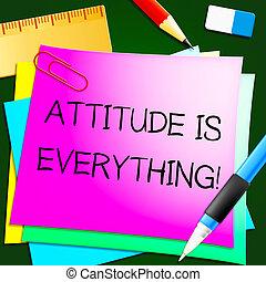 표현한다, 긍정적인, 삽화, 모두, 태도, 행복하다, 3차원