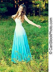 푸른 드레스