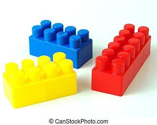 플라스틱 장난감, 벽돌
