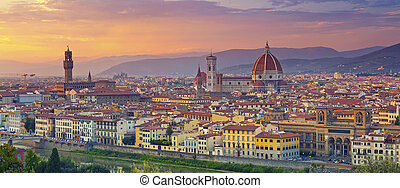 피렌체, panorama.