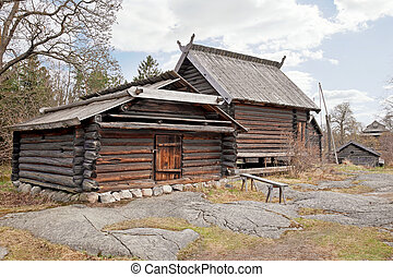 핀란드 말, 마을