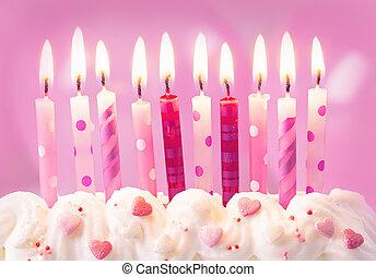 핑크, 생일 초