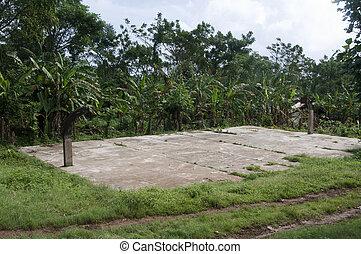 학교, 스포츠 들판, 니카라과