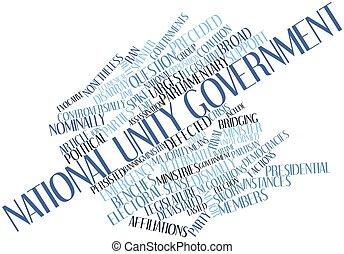 한 나라를 상징하는, 단일, 정부