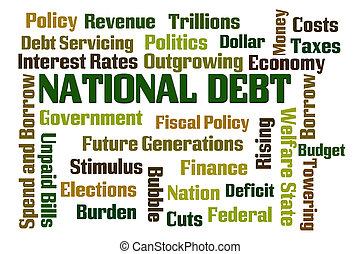 한 나라를 상징하는, 빚