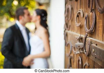 한 쌍, 결혼식
