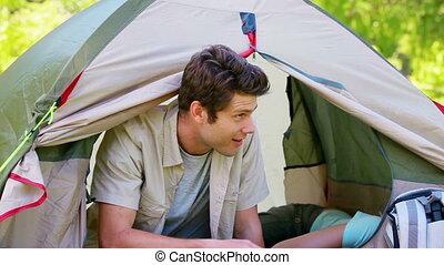 한 쌍, 텐트