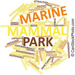 해양 포유 동물, 공원