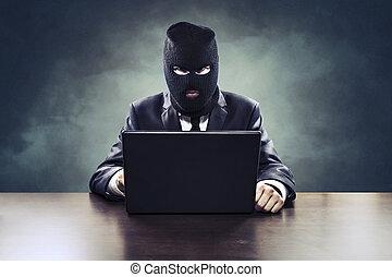 해커, 사업, 정부, 비밀, 대리인, 훔침, 또는, 간첩행위