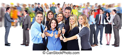 행복하다, 실업가, group.