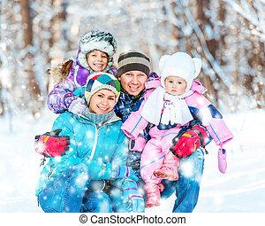 행복하다, 젊음 가족