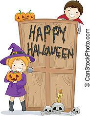 행복하다, halloween