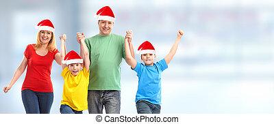 행복한 크리스마스, 사람.
