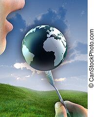 행성, 자원