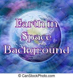 행성 지구, 공간