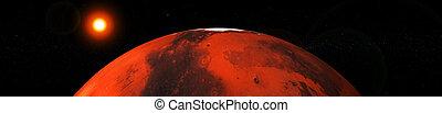 행성, 지구, 체계, 태양의, 화성