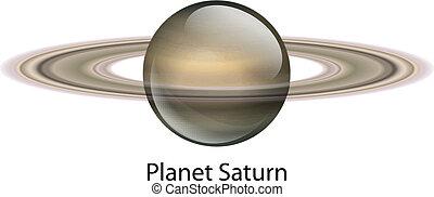 행성, 토성