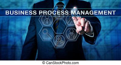 행정관, 압착하기, 사업, 과정, 관리