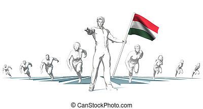 헝가리, 경주, 에, 미래