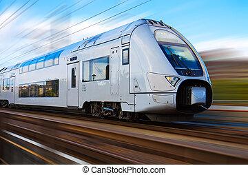 현대, 고속도 기차