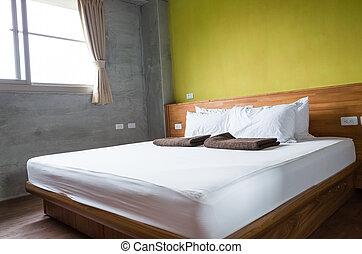 현대, 유행, 침실