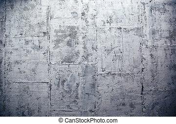 현대, 콘크리트 벽, 만든, 의, 구획