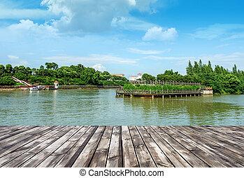 호수, 공원