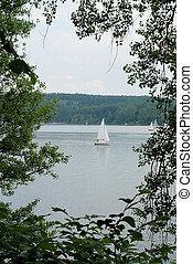 호수, 보트