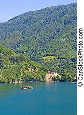 호수, 에서, rodopi, 산, 2